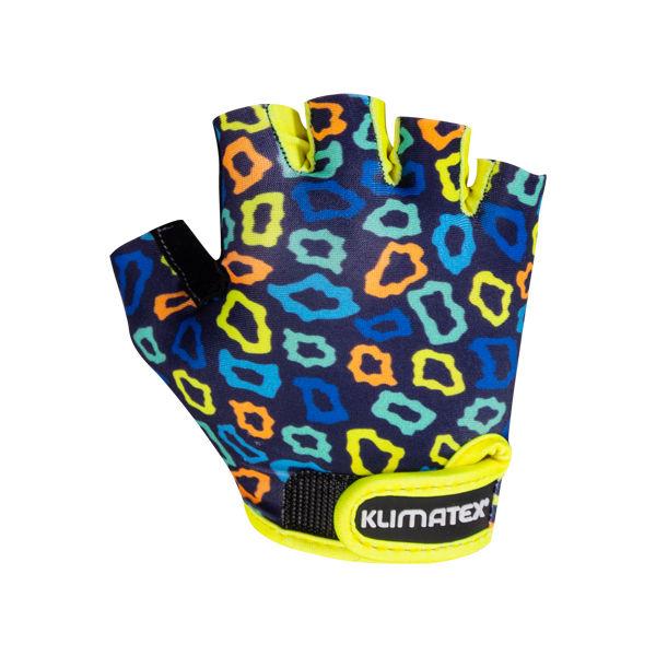 Klimatex KOTTE tmavo modrá 6 - Detské cyklistické rukavice