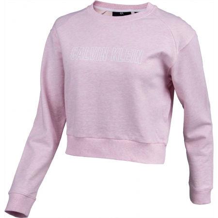 Women's sweatshirt - Calvin Klein PULLOVER - 2