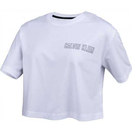 Дамска тениска - Calvin Klein CROPPED SHORT SLEEVE T-SHIRT - 2