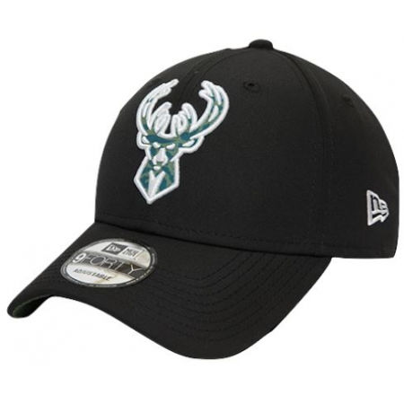 Klubová kšiltovka - New Era 9FORTY NBA HOOKS MILWAUKEE BUCKS - 1