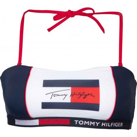 Tommy Hilfiger BANDEAU- RP - Dámsky vrchný diel plaviek