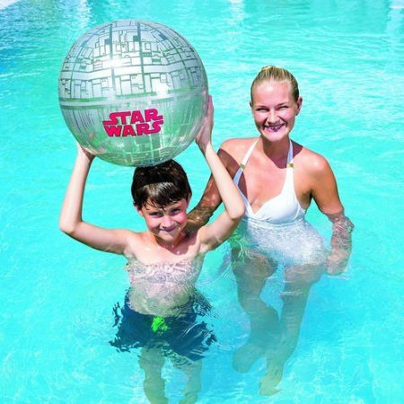 Inflatable ball - Bestway SPACE STATION BEACH BALL - 3