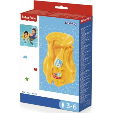 Children's inflatable vest - Bestway SWIM SAFE BABY VEST STEP B - 6