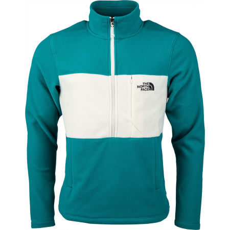Herren Sweatshirt - The North Face BLOCKED 1/4 ZIP - 1