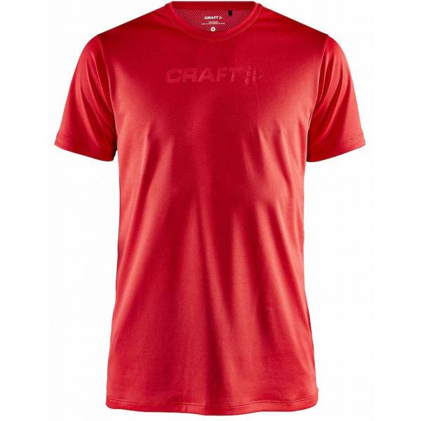 Craft CORE ESSENCE MESH červená L - Pánské funkční triko