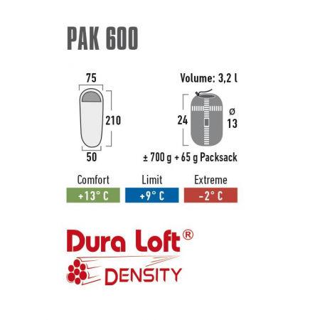 Spací vak - High Peak PAK 600 - 5