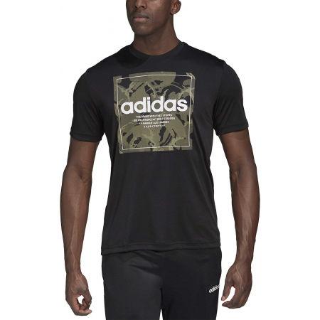 Мъжка тениска - adidas CAMO BX T - 3