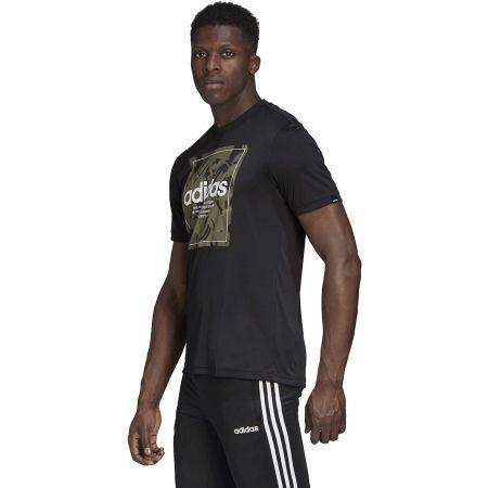 Мъжка тениска - adidas CAMO BX T - 5