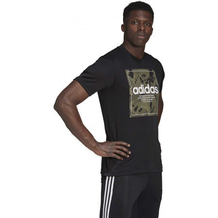 Pánske tričko - adidas CAMO BX T - 6