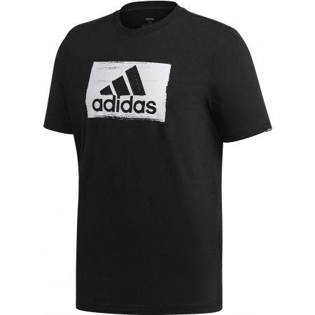 Herrenshirt - adidas M BRSHSTRK T - 1