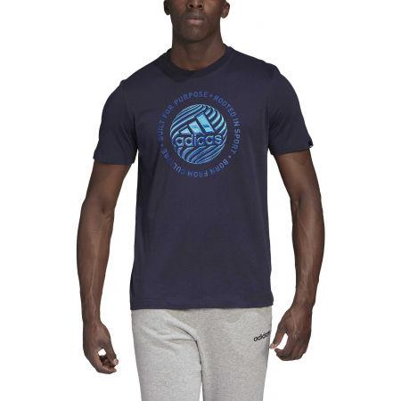 Pánske tričko - adidas M HYPRRL SLGN T - 3