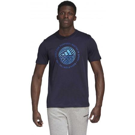 Pánske tričko - adidas M HYPRRL SLGN T - 4