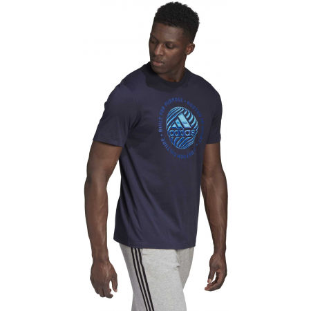 Pánske tričko - adidas M HYPRRL SLGN T - 6