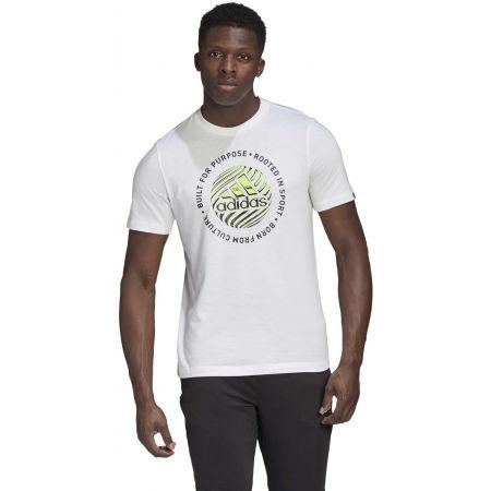 Men's T-Shirt - adidas M HYPRRL SLGN T - 4