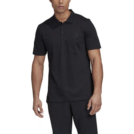 Tricou polo bărbați - adidas BRILLIANT BASICS POLO SHIRT - 3