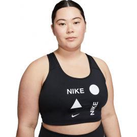 Nike SWOOSH ICNCLSH PLUS BRA - Women's plus size sports bra