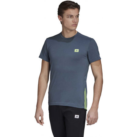 Men's T-Shirt - adidas MENS D2M MOTION PACK TEE - 4
