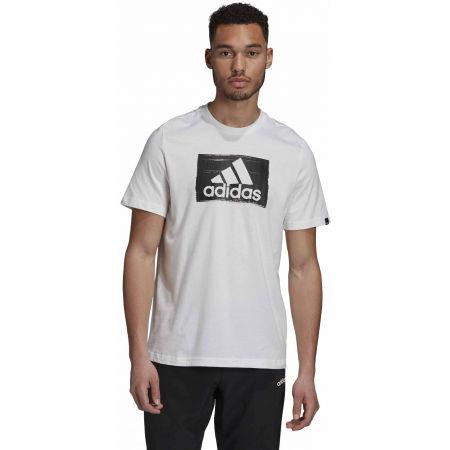 Pánské triko - adidas M BRSHSTRK T - 4