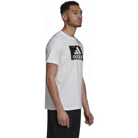 Herrenshirt - adidas M BRSHSTRK T - 5