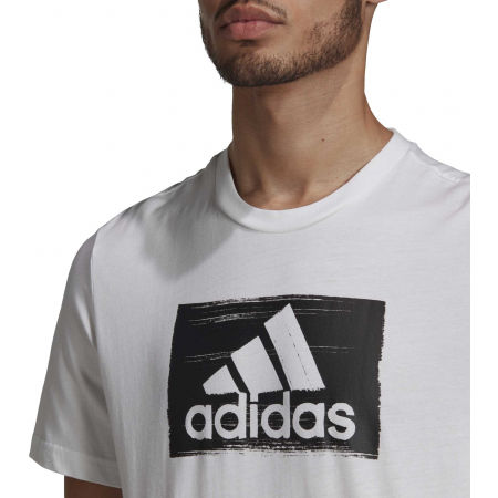 Herrenshirt - adidas M BRSHSTRK T - 8