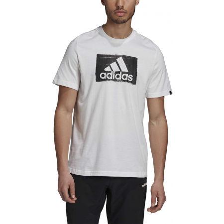 Herrenshirt - adidas M BRSHSTRK T - 3
