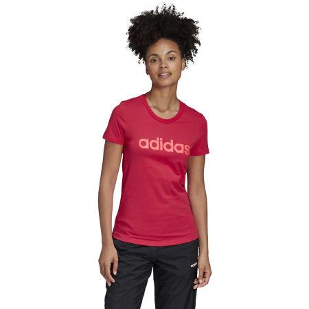 Dámske tričko - adidas E LIN SLIM TEE - 4