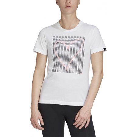 Tricou damă - adidas W ADI HEART T - 3