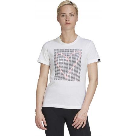 Tricou damă - adidas W ADI HEART T - 4