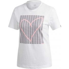 adidas W ADI HEART T - Dámske tričko