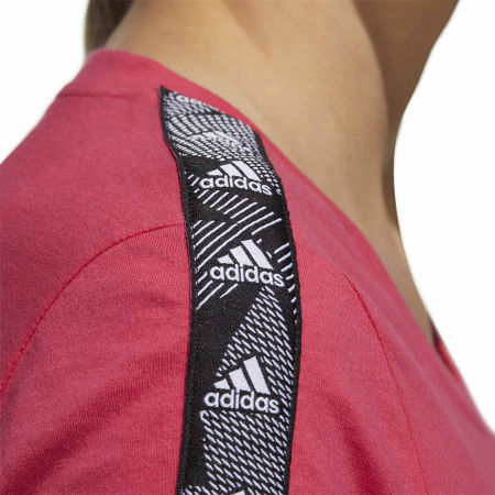Women's T-shirt - adidas WOMENS ESSENTIALS TAPE TEE - 9