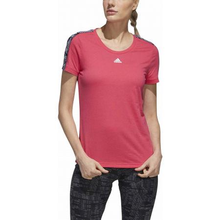 Tricou damă - adidas WOMENS ESSENTIALS TAPE TEE - 3