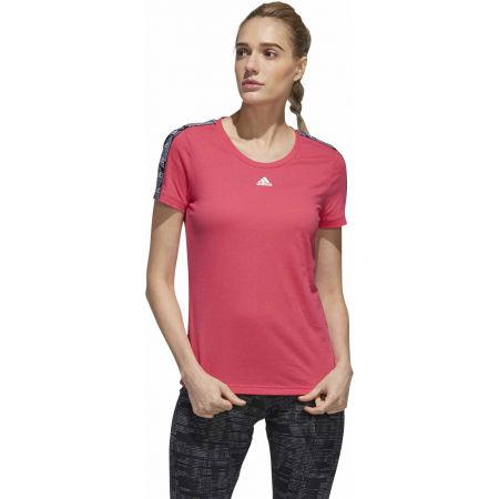 Tricou damă - adidas WOMENS ESSENTIALS TAPE TEE - 4