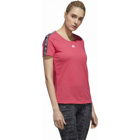 Tricou damă - adidas WOMENS ESSENTIALS TAPE TEE - 6