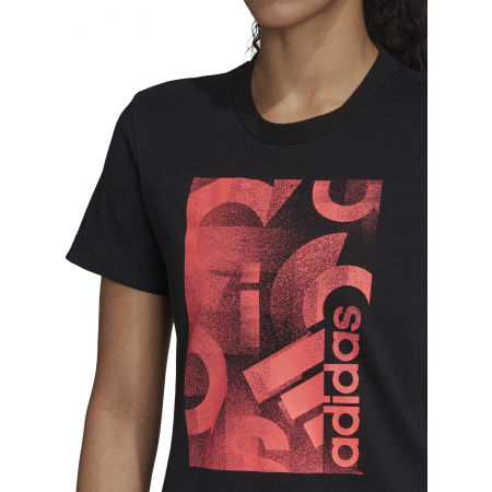 Women's T-shirt - adidas UNLEASH CONFIDENCE GRAPHIC TEE - 8