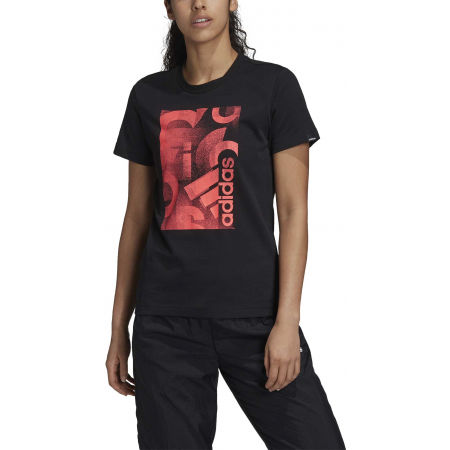 Women's T-shirt - adidas UNLEASH CONFIDENCE GRAPHIC TEE - 3