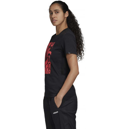 Women's T-shirt - adidas UNLEASH CONFIDENCE GRAPHIC TEE - 5