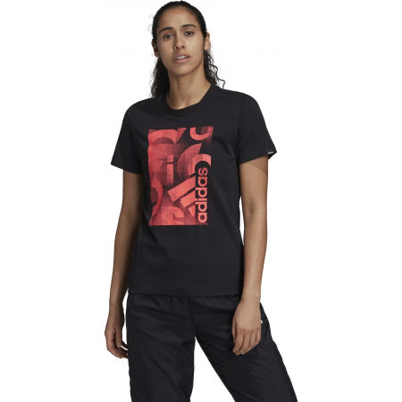 Women's T-shirt - adidas UNLEASH CONFIDENCE GRAPHIC TEE - 4