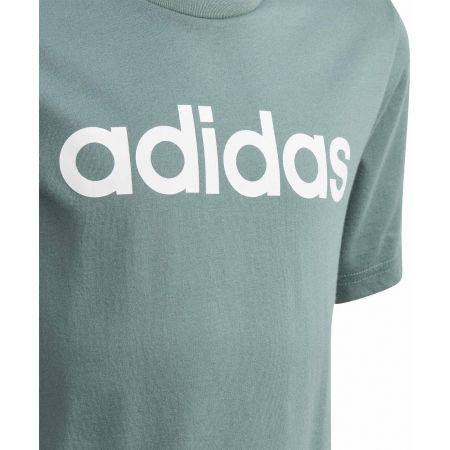 Тениска за момчета - adidas YB E LIN TEE - 3