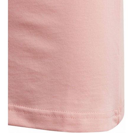 Girls' T-shirt - adidas YG LINEAR TEE - 5
