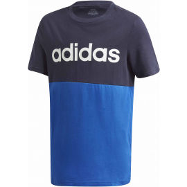 adidas YB LINEAR COLORBLOCK TEE
