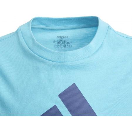 Tricou băieți - adidas YB BADGE OF SPORTS TEE - 4