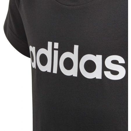 Girls' T-shirt - adidas ESSENTIALS LINEAR TEE - 4