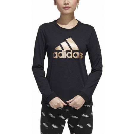 Дамска тениска - adidas U-B LONG SLEEVE T-SHIRT - 3
