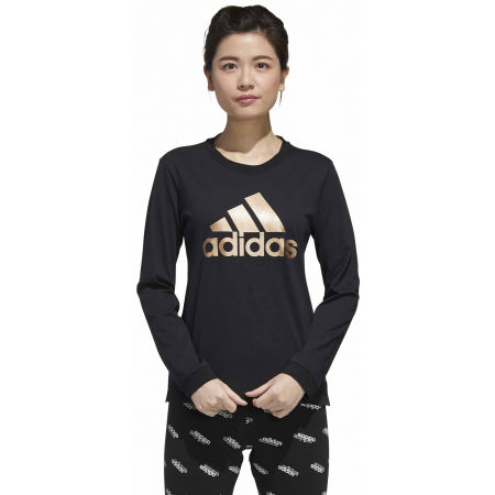 Дамска тениска - adidas U-B LONG SLEEVE T-SHIRT - 4
