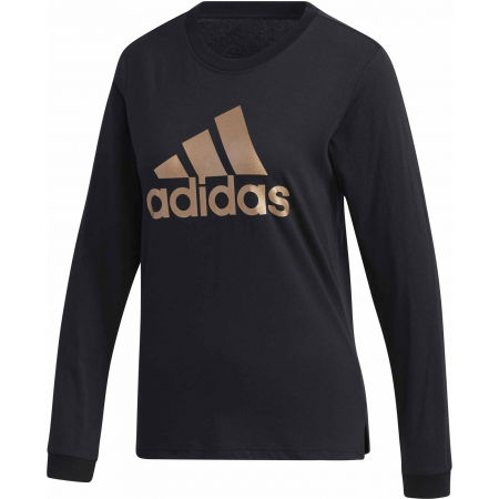 adidas U-B LONG SLEEVE T-SHIRT - Дамска тениска