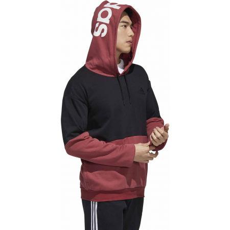 Bluza męska - adidas NEW AUTHENTIC HOODED SWEATSHIRT - 6