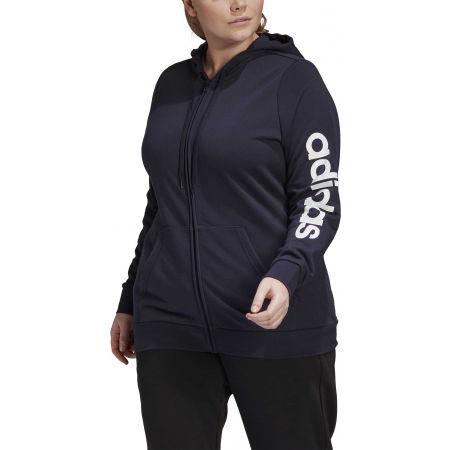 Damen Sweatshirt - adidas E INC FZ HD - 3