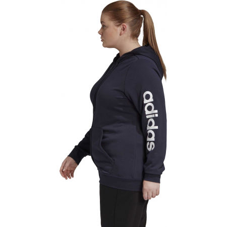 Damen Sweatshirt - adidas E INC FZ HD - 5