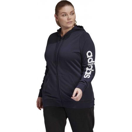 Damen Sweatshirt - adidas E INC FZ HD - 4