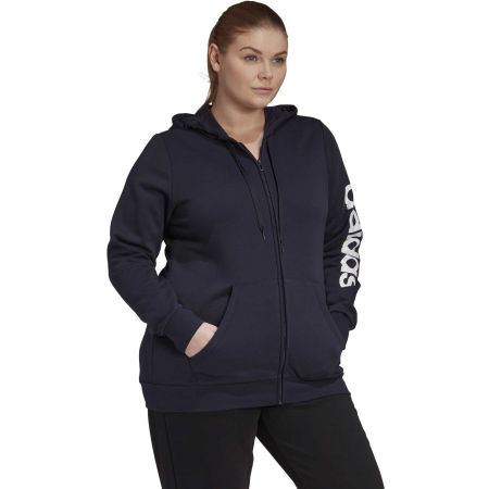 Damen Sweatshirt - adidas E INC FZ HD - 6